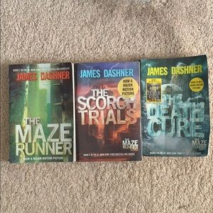 The Maze Runner Series, Books 1-3.Read description
